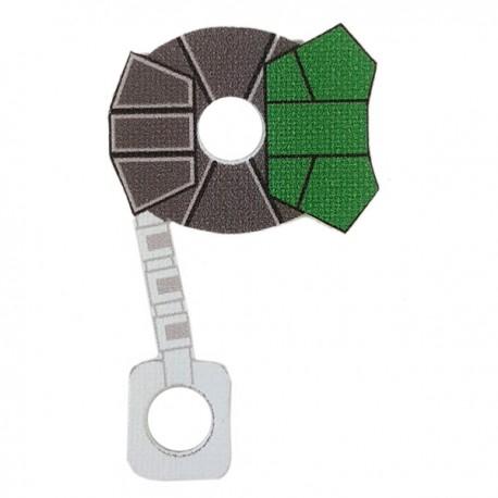 Lego Minifigure Star Wars Clone Army Customs - Commander ARC Cloth (Green)