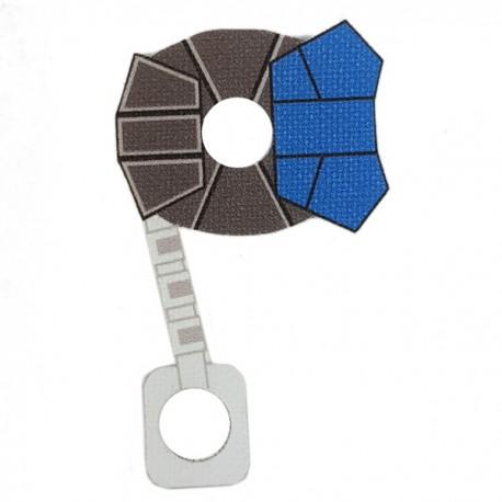 Lego Minifigure Star Wars Clone Army Customs - Commander ARC Cloth (Bleu)