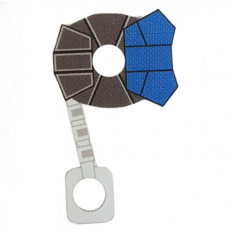 Lego Minifigure Star Wars Clone Army Customs - Commander ARC Cloth (Blue)