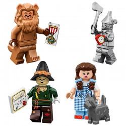 LEGO® 4 Minifigs Wizard of Oz - 71023