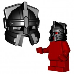 Lego Minifigure Accessories Brick Warriors - Dwarf Helmet (Black)