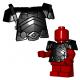 Lego Minifigure BrickWarriors - Armure pour Nain (Noir)
