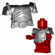Lego Minifigure BrickWarriors - Dwarf Armor (Steel)