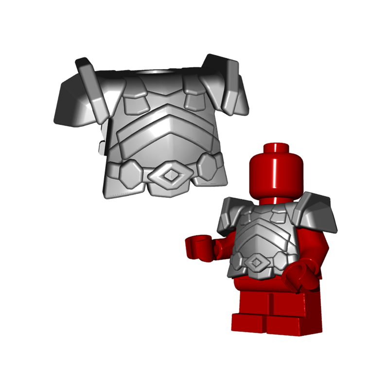 Batman Minifigure Lego Compatible Armor Armored Custom Figure Super Wars Begin