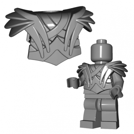 Lego Minifigure BrickWarriors - Elf Armor (Steel)