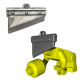 Lego Minifigure BrickWarriors - Guillotine Blade (Steel)