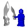 Lego Minifigure BrickWarriors - Falcata (Steel)
