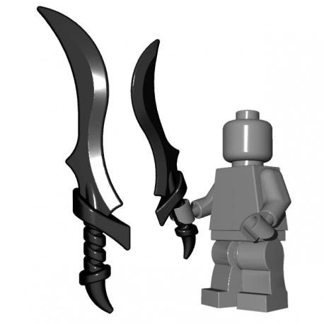 BrickWarriors - Elf Sword (Black)