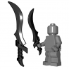 BrickWarriors - Elf Sword (Black)