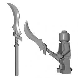 Lego Minifigure BrickWarriors - Elf Spear (Steel)