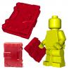 Brick Warriors - Livre de sorts (Rouge foncé)