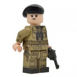 United Bricks - WW2 British Tank Commander Minifigure lego army