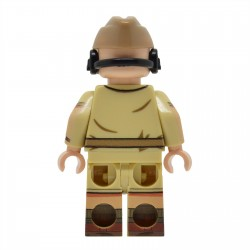United Bricks - WW2 DAK Panzer Commander Minifigure lego army