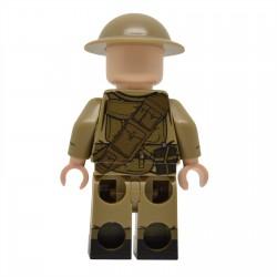 United Bricks - Membre Equipage Bren Armée Britannique WW2 Minifigure lego armée militaire