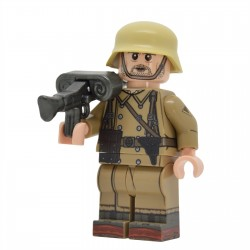 United Bricks - WW2 DAK Machine Gunner Minifigure Minifigure Lego