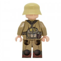 United Bricks - WW2 DAK Machine Gunner Minifigure lego
