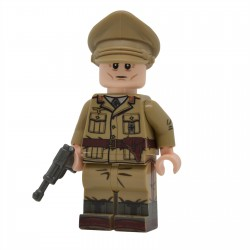 United Bricks - WW2 DAK Officer Minifigure Lego