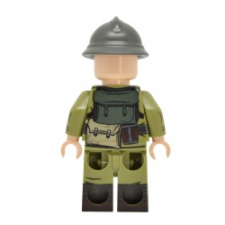 United Bricks - WW1 Soldat Italien Minifigure Lego