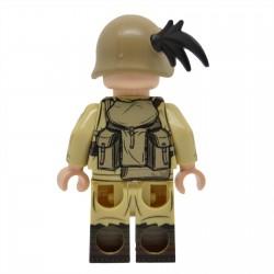 United Bricks - WW2 Italian Bersaglieri (Desert) Minifigure Lego