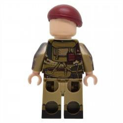 United Bricks - Parachutiste Aéroporté Britannique WW2 Minifigure Lego