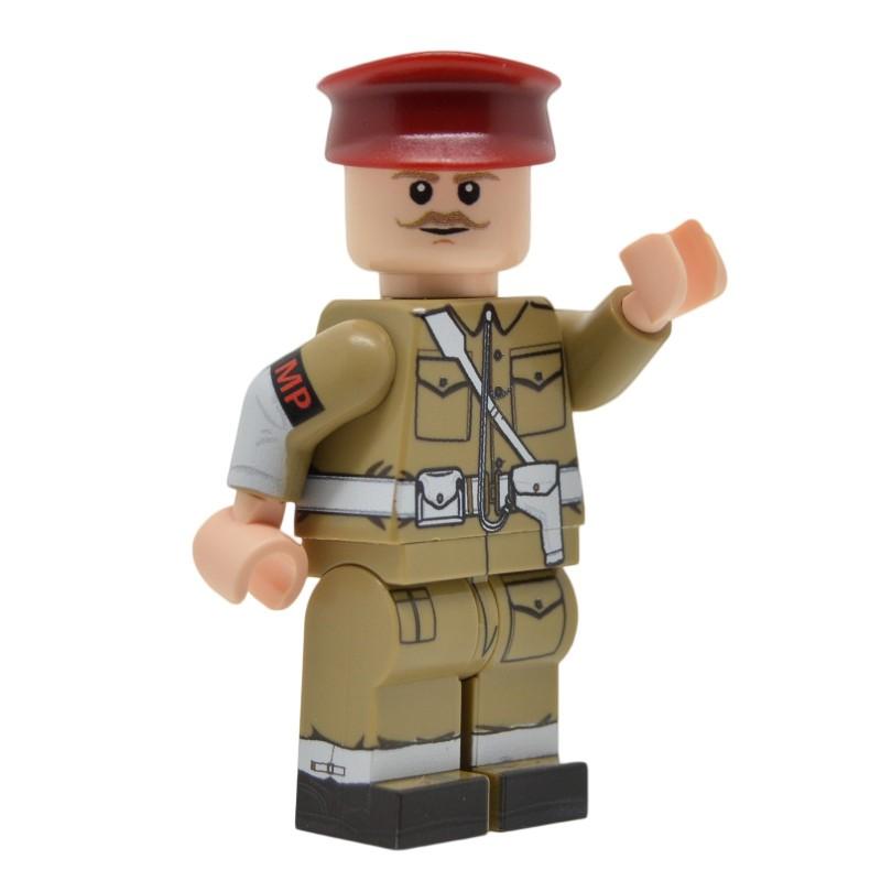 United Bricks WW2 British Military Police LEGO Minifigure Military