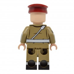 United Bricks - Police Militaire Britannique (MP) Minifigure Lego