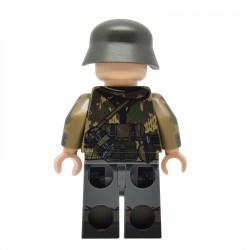United Bricks - WW2 Soldat Allemand Splinter Camo Smock (Kar98k) Minifigure Lego