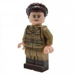 United Bricks - Membre de l'ATS Britannique WW2 Minifigure Lego