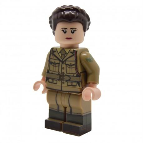 United Bricks - Membre de l'ATS Britannique WW2 Minifigure Lego