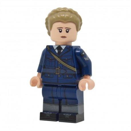 United Bricks - Membre de la WAAF Britannique WW2 Minifigure Lego