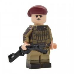 United Bricks - Parachutiste Aéroporté Britannique NCO WW2 Minifigure Lego