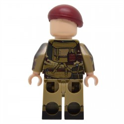 United Bricks - WW2 British Airborne Paratrooper NCO Minifigure Lego