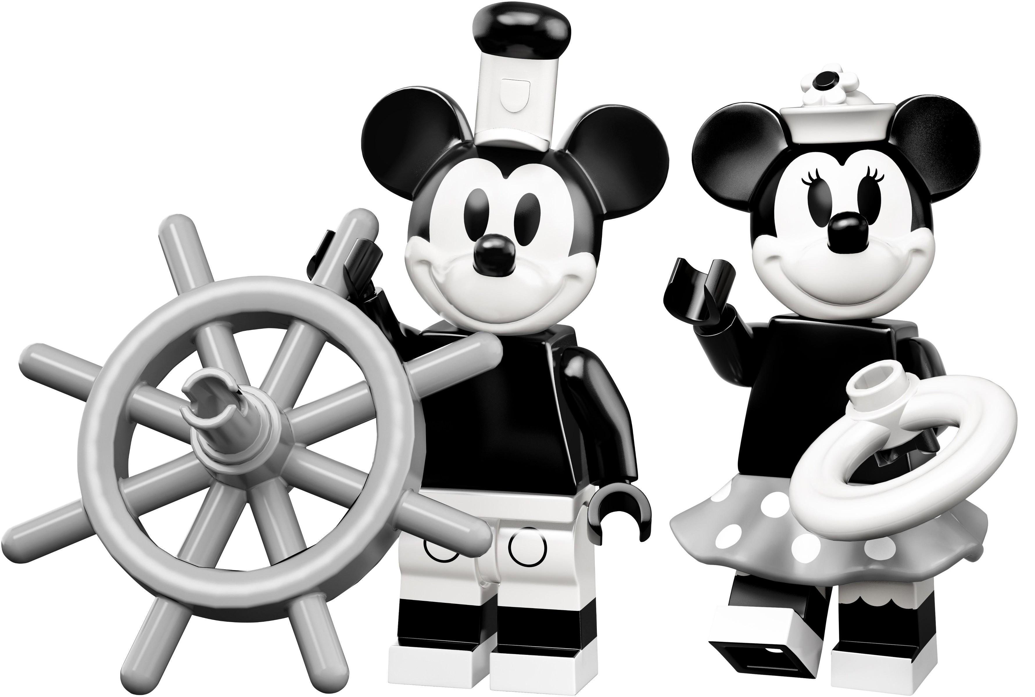 STEAMBOAT MICKEY New Disney Lego Minifigures Series 2