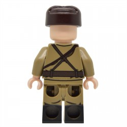 United Bricks - WW2 Soviet NCO with M35 Gymnastyorka Minifigure