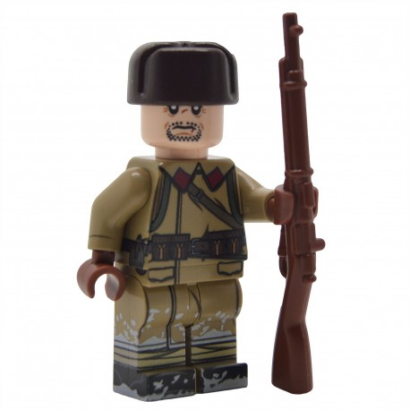 United Bricks - Winter War Soviet Infantry Minifigure