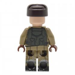 United Bricks - WW2 Infanterie Soviétique Guerre d'Hiver Minifigure