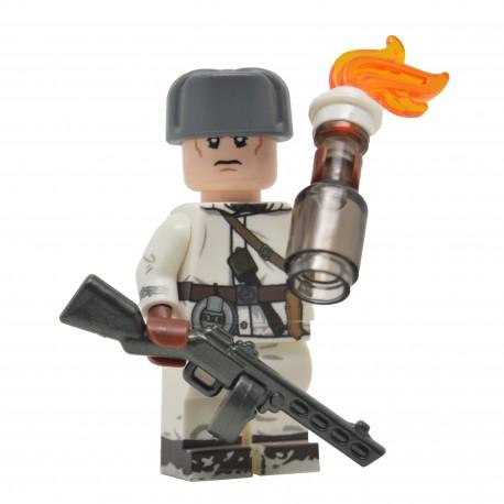 Lego United Bricks - WW2 Infanterie Finlandaise Guerre d'Hiver Minifigure