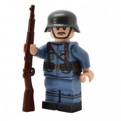 United Bricks - WW1 Soldat Austro-hongrois Minifigure