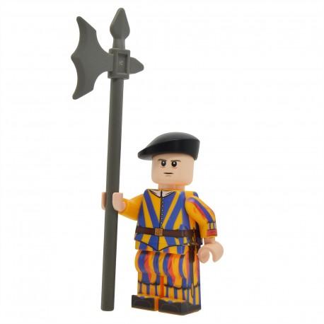 United Bricks - Pontifical Swiss Guard Minifigure