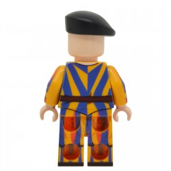 United Bricks - Pontifical Swiss Guard Minifigure
