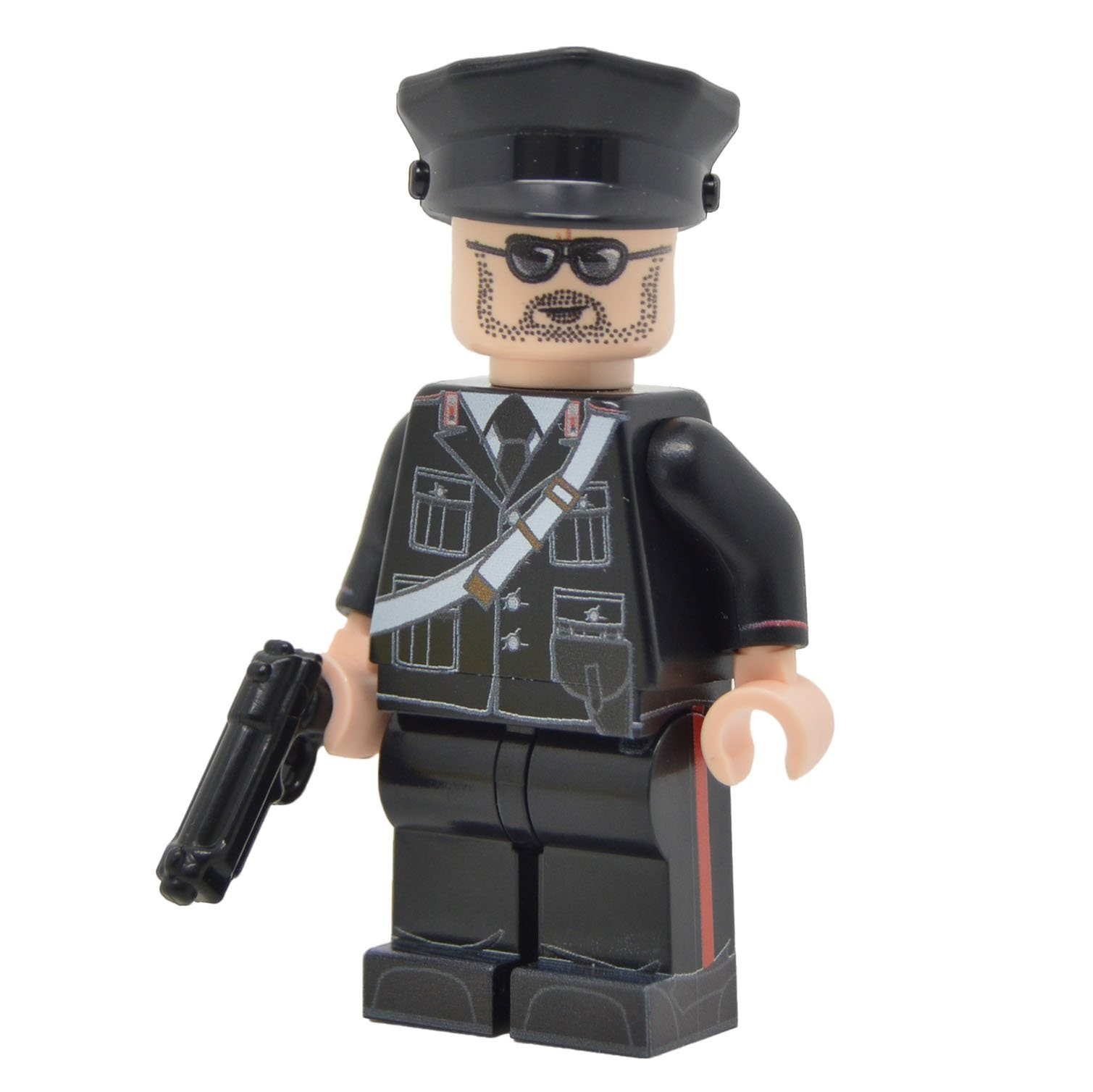 Lego 100 New White Minifigure Visor Snow Goggles Pieces