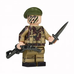 United Bricks WW2 British Commando LEGO Minifigure