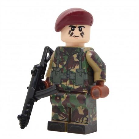 United Bricks - Falklands War British Paratrooper Minifigure