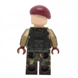 United Bricks - Falklands War British Paratrooper Minifigure