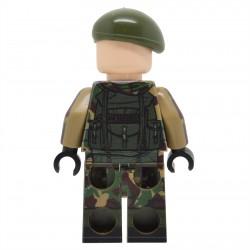 United Bricks - Commando Britannique de la Guerre des Malouines Minifigure