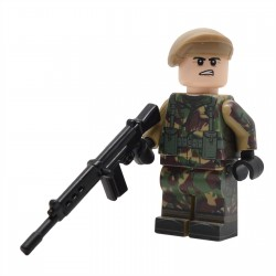 Lego United Bricks - Falklands War British Infantry Minifigure