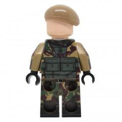 Lego United Bricks - Infanterie Britannique de la Guerre des Malouines Minifigure