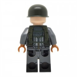 Lego United Bricks - Falklands War Argentine Infantry Minifigure