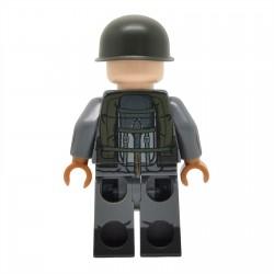 Lego United Bricks - Falklands War Argentine Infantry Minifigure