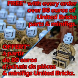 United Bricks - Frozen Minifigure